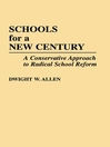 Schools for a New Century